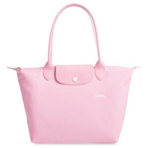 Longchamp Club 長柄 細購物包 粉紅色 (P36)