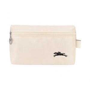 Longchamp Club 手拿包 粉白色 (337)