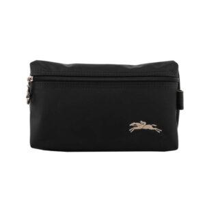 Longchamp Club 手拿包 黑色 (001)