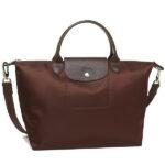 Longchamp NÉO 兩用系列 中手袋 巧克力色 (203)
