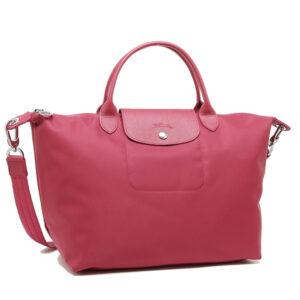Longchamp NÉO 兩用系列 中手袋 紅桑子 (232)