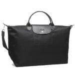 Longchamp NÉO 兩用系列 大手袋 黑色 (001)