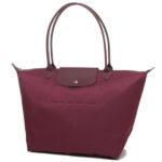 Longchamp NÉO 大購物包 黑醋栗色 (745)