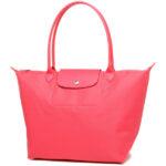 Longchamp NÉO 大購物包 牡丹粉 (A27)