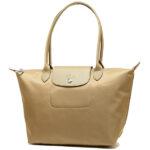 Longchamp NÉO 細購物包 金色 (124)