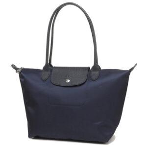 Longchamp NÉO 細購物包 海軍藍 (006)