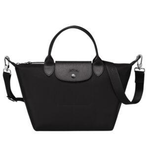 Longchamp NÉO (2020) 兩用系列 細手袋 黑色 (001)