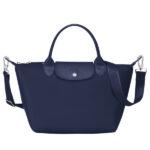 Longchamp NÉO (2020) 兩用系列 細手袋 海軍藍 (006)