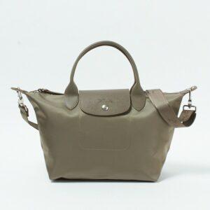 Longchamp NÉO (2020) 兩用系列 細手袋 駝灰色 (215)