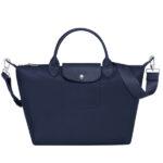 Longchamp NÉO (2020) 兩用系列 中手袋 海軍藍 (006)