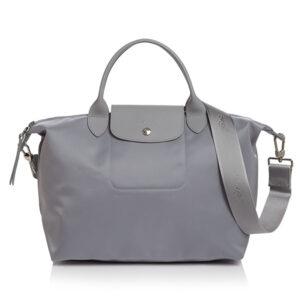 Longchamp NÉO (2020) 兩用系列 中手袋 水泥灰 (E75)
