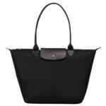 Longchamp NÉO (2020) 大購物包 黑色 (001)