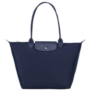 Longchamp NÉO (2020) 大購物包 海軍藍 (006)