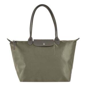 Longchamp NÉO (2020) 大購物包 駝灰色 (215)