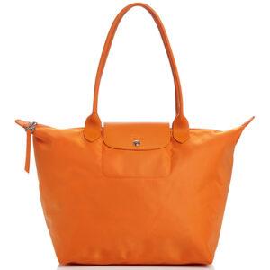 Longchamp NÉO (2020) 大購物包 橙色 (317)