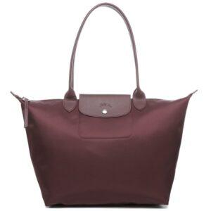 Longchamp NÉO (2020) 大購物包 深红色 (P52)