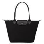 Longchamp NÉO (2020) 細購物包 黑色 (001)