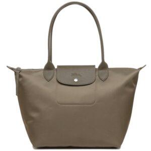 Longchamp NÉO (2020) 細購物包 駝灰色 (215)