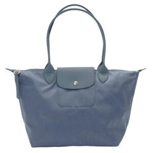 Longchamp NÉO (2020) 細購物包 北歐藍 (743)