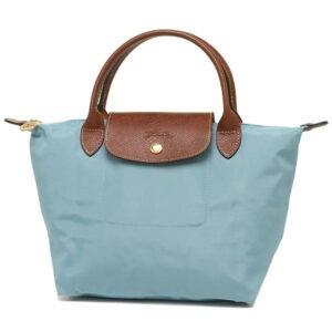 Longchamp 短柄 細手提袋 極地色 (P05)