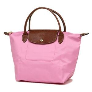 Longchamp 短柄 細手提袋 粉紅 (058)