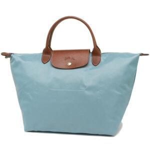 Longchamp 短柄 中手提袋 極地色 (P05)