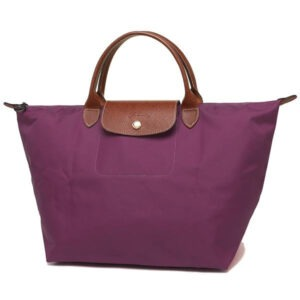 Longchamp 短柄 中手提袋 大麗花色 (P10)