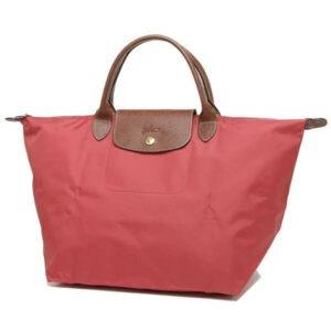 Longchamp 短柄 中手提袋 無花果 (P16)