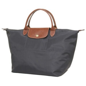 Longchamp 短柄 中手提袋 鐵灰色 (300)