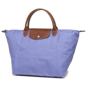 Longchamp 短柄 中手提袋 薰衣草 (B40)