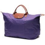 Longchamp 短柄 大旅行包 紫水晶 (958)