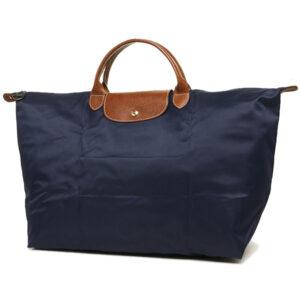 Longchamp 短柄 大旅行包 海軍藍 (556)