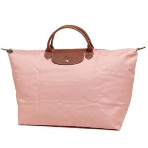 Longchamp 短柄 大旅行包 玫瑰色 (A26)
