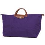 Longchamp 短柄 特大旅行包 紫水晶 (958)