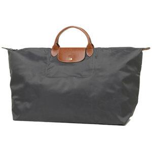 Longchamp 短柄 特大旅行包 鐵灰色 (300)