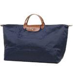 Longchamp 短柄 特大旅行包 海軍藍 (556)