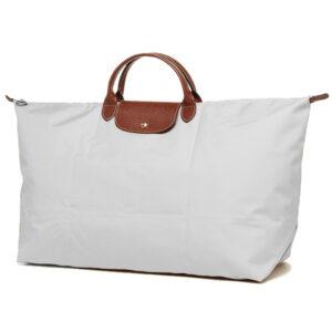 Longchamp 短柄 特大旅行包 油灰色 (A59)