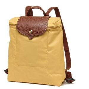 Longchamp 經典背包 咖喱色  (C91)