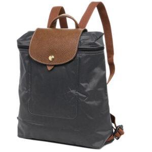 Longchamp 經典背包 鐵灰色  (300)