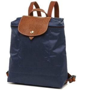 Longchamp 經典背包 海軍藍 (556)