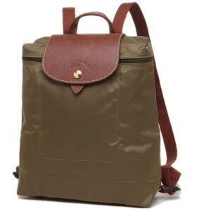 Longchamp 經典背包 卡其色 (春) (A23)