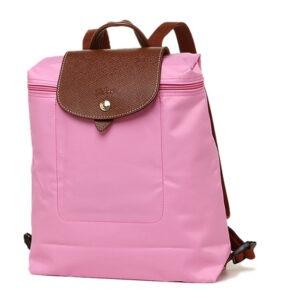 Longchamp 經典背包 玫瑰粉紅 (058)