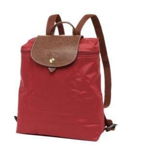 Longchamp 經典背包 胭脂紅 (545)