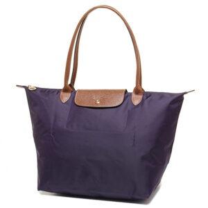 Longchamp 長柄 大購物包 紫色 (645)
