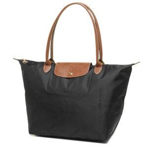 Longchamp 長柄 大購物包 黑色 (001)