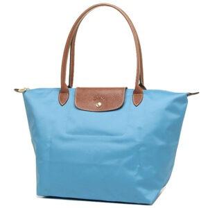 Longchamp 長柄 大購物包 海水藍 (807)