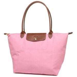 Longchamp 長柄 大購物包 粉紅 (P03)