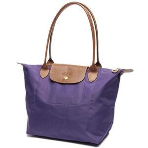 Longchamp 長柄 細購物包 水晶紫 (958)