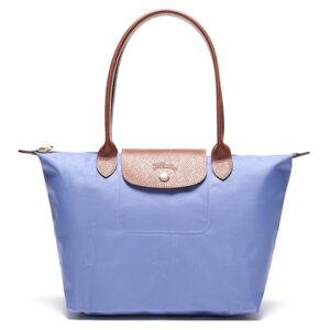 Longchamp 長柄 細購物包 薰衣草 (B40)