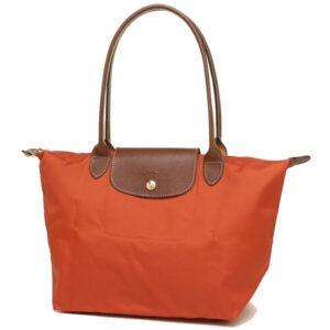 Longchamp 長柄 細購物包 藏紅花 (D93)